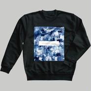 「巡る」スウェット /  藍 (black)