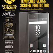 【直営店限定】クリスタルアーマー® PAPER THIN for Xperia Z5 Premium 両面保護セット
