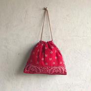 APPRECIATIVE Vintage  fabric purse bag M