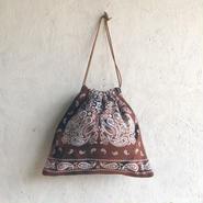 APPRECIATIVE Vintage fabric Purse bagbandannaN