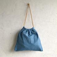 APPRECIATIVE Vintage  fabric  purse bag denim A