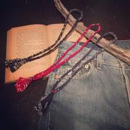 vintage bandanna necklace