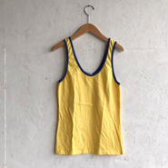 Used  2tone tank Yellow