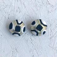 Vintage geometric pierce