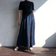 Used  indigo long skirt