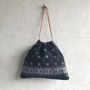 APPRECIATIVE Vintage  fabric purse bag bandanna J