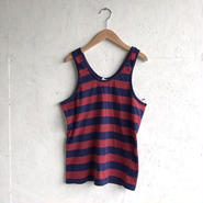 Used Border tank Navy×Red