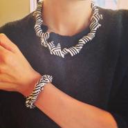 jour couture Border Bracelet