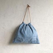 APPRECIATIVE Vintage fabric purse bag bandanna L