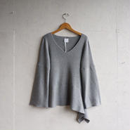 STAIR ORIGAMI Knit top