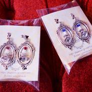 Phantom Jewelry/ファントムジュエリー 素敵なフレームの蝋燭イヤリング