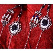 Phantom Jewelry/ファントムジュエリー 薔薇のカメオと燭台のメガネチェーン