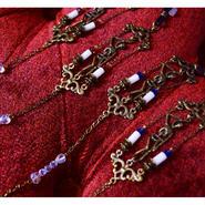 Phantom Jewelry/ファントムジュエリー 首吊り骸骨と骨のメガネチェーン