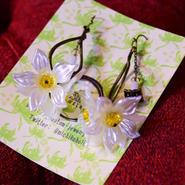 Phantom Jewelry/ファントムジュエリー お花と蝋燭のピアス