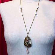 Phantom Jewelry/ファントムジュエリー 閉じ込められた蝋燭ネックレス