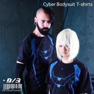 D/3/ディースリー サイバー ボディスーツ Tシャツ CYBER BODYSUIT T-shirts