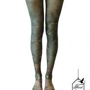 A.Li.E/アライ Forest legwear(GREEN)