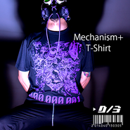 D/3/ディースリー  Mechanism+ T-shirts(メカニズムプラス Tシャツ)