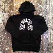 BAKIBAKI 肺パーカ