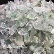 グリーンファントム水晶チップ