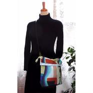 2WAY   Shoulder Bag KINCHAKU  【Harmony】 巾着ショルダーバッグ【 ハーモニー 】