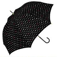 【a.s.s.a】RL080-1 ネコドット 雨傘