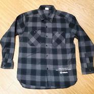 shirt  Gray×Black