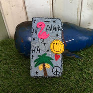 ハワイアンワッペンスマホケース(iPhone6Plus/6sPlus、7Plus用)
