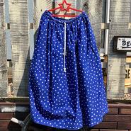 星総柄スカート