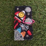 スペーススマイルスマホケース(iphone6/6s,7用)