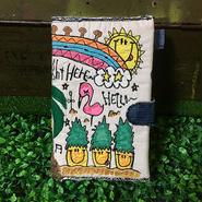 ハワイアン刺繍手帳(B6サイズ)