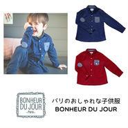 BONHEUR DU JOUR ボーイズシャツ(16037)