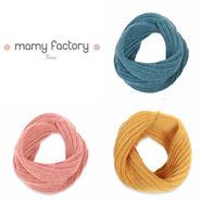 mamy factory 手編みニットスヌード (15020)