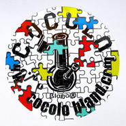 PUZZLE BONG STICKER(WHITE)