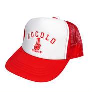 KIDS BONG MESH CAP (RED)