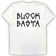 SUSTOS × BLOCK BASTA Tee . WHITE