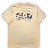 ROLLERS / STONER BASE S/S Tee . Natural