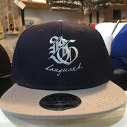 Banguard×Led deep Snap back cap