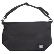 SQUARE LOGO SHOULDER BAG (BLACK)