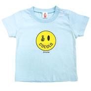SMILEY BONG TEE (Lt-BLUE) KIDSサイズ