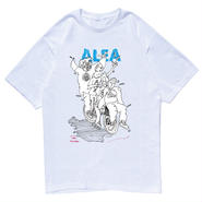ALEA T-SHIRTS(WHITE/BLACK)