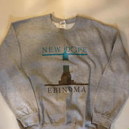 NEW DOPE CREW NECK(GRAY/ASH)