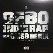 GEBO/ INDIE RAP(7インチレコード)