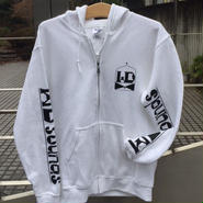 WDsounds TRADE ZIP HOODIE(NAVY/WHITE/RED)