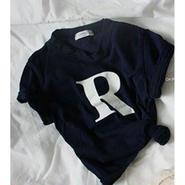 ★R Tシャツ★RED/Navy
