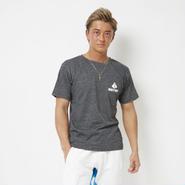 トライアングルTシャツ  カラー:ブラック 品番:0008
