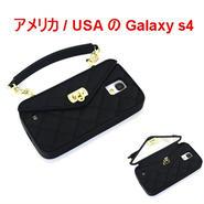 アウトレット パッケージ無し pursecase パースケース アメリカ BLACK SAMSUNG GALAXY S4 シリコン ブラック サムスン ギャラクシー エス4 ケース 海外 ブランド