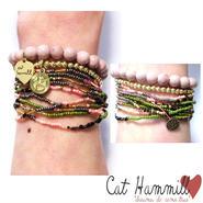 CATHAMMILL キャットハミル オーストラリア の オシャレ ブレスレットセット multi colored coco bracelet set multi かさねづけ マルチ 海外 ブランド