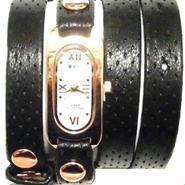 LAMERCOLLECTIONS ラメールコレクション アメリカ の 腕時計 ブレスレット 多重 レディース ブラック ゴールド アメカジ セレカジ セール 海外 ブランド