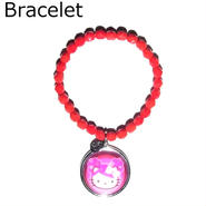 TARINA TARANTINO タリナタランティーノ コラボレーション キティ レッド ブレスレット Hello kitty bracelet RED コラボ ハローキティちゃん 海外 ブランド